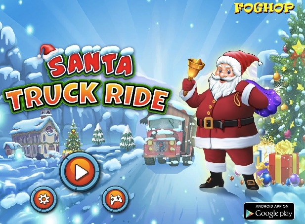 Santa 3D Truck