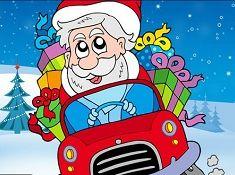 Santa Car Puzzle