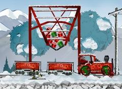 Santa Claus Christmas Truck