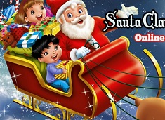 Santa Claus Coming Coloring