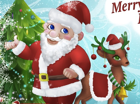 Christmas action games online