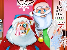 Santa Claus Eye Doctor