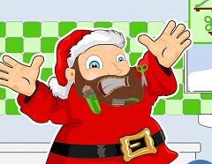 Santa Claus Shaving
