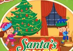 Santa House Makeover