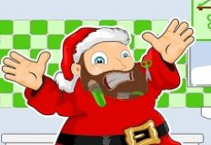 Santa Shaving