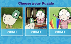 Sarah and Duck Puzzle