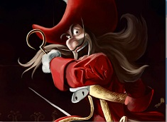 Scary Captain Hook Puzzle