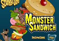 Scooby Doo Monster Sandwhich