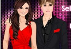 Selena Gomez and Justin Bieber Hanging Out