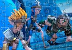 Sendokai Champions Puzzle