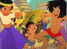 Shanti and Mowgli Puzzle