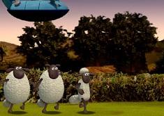 Jogo Shaun the Sheep Alien Athletics Online Gratis