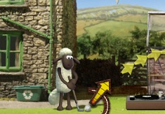 Jogo Shaun the Sheep Baahmy Golf Online Gratis