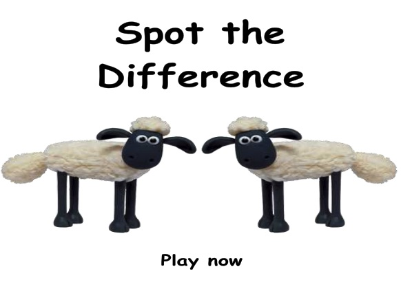 Shaun the Sheep Differences