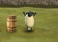 Shaun the Sheep Hide n Sheep