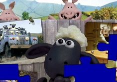 Shaun the Sheep Puzzle