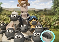 Shaun the Sheep Spot the Numbers