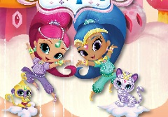 Shimmer and Shine Bubbles