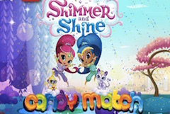 Shimmer and Shine Candy Match