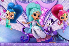 Shimmer and Shine Find Objects