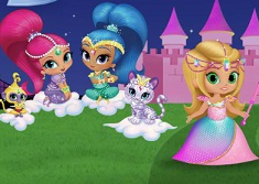 Shimmer and Shine Tale of a Princess