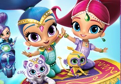 f98bb2ab0e Shimmer and Shine the Great Zahramay Falls Race
