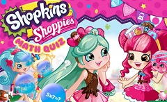 Shopkins Shoppies Math Quiz