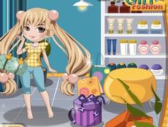 Shopping Girl Fashion