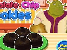 Shrek Chocolate Chip Cookies