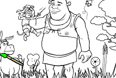 Shrek Coloring