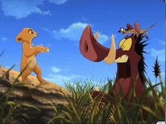 Timon and Pumba Games