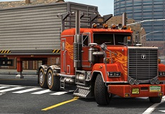 Skill 3D Parking American Trucks