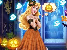 Sleeping Princess Halloween Castle