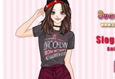 Slogan T Shirt Anime