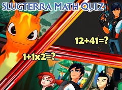 Slugterra Math Quiz