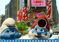 Smurfs Hidden Numbers