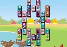 Smurfs Mahjong