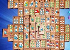 Smurfs Mahjong 2