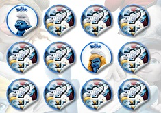 Smurfs Memory Game 2