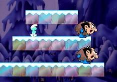 Smurfs Snowball Game