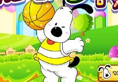 Snoopy Bascketball Game