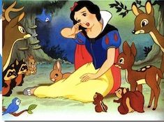 Snow White and Animal Friends Puzzle