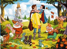 Snow White and Prince Puzzle
