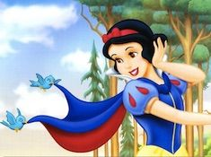 Snow White and the Birds Puzzle