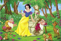 Snow White at the Fountain Puzzle