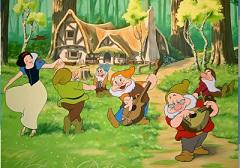 Snow White Dancing Puzzle