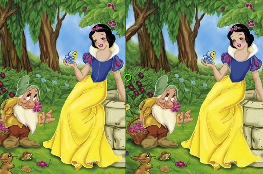 Snow White Differences