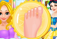 Snow White Doctor Rapunzel Foot