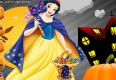 Snow White Halloween Pumpkin