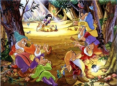 Snow White in the Forest Puzzle